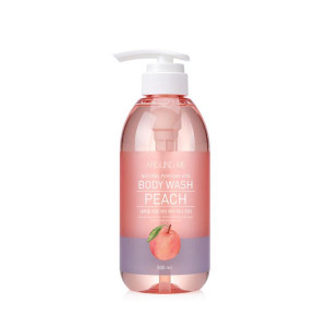Around Me Natural Perfume Vita Body Wash Peach 500ml