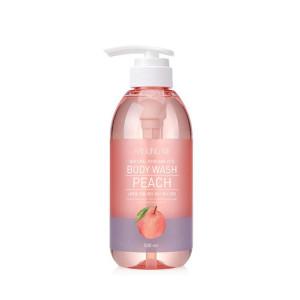 Around Me Natural Perfume Vita Body Wash Peach 500ml