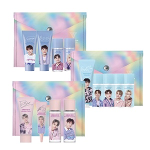 The Saem X SEVENTEEN Hiphop Team Cleansing 4 Travel Kit 1set