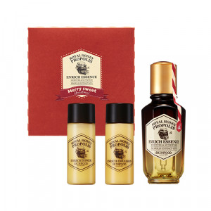 Skinfood Royal Honey Propolis Enrich Essence [Holiday Edition] 50ml+18ml+18ml