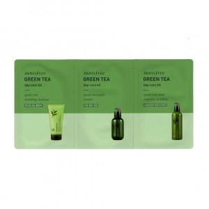 [S] Innisfree Green Tea Day Care Kit 2ml + 2ml + 2ml