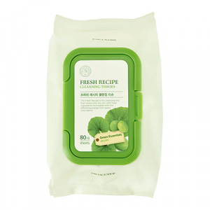 The Face Shop Fresh Recipe Cleansing Tissue 80pcs