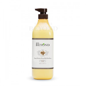 BEYOND Dee Moisture Honey Shower Body Emulsion [Big Size] 1L