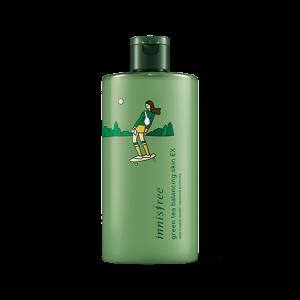 Innisfree 2018 Eco Hankie X Green Tea Balancing Skin (LTD) 400ml