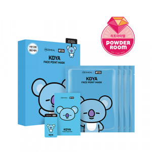 MEDIHEAL x BT21 KOYA Face Point Mask 20ml*4ea