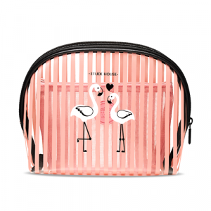 Etude House Summer Flamingo Bag In Bag Pouch 1ea