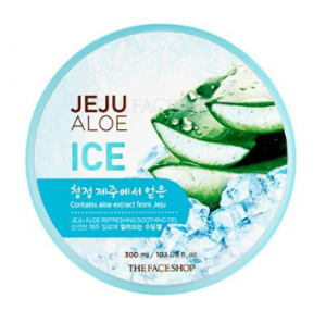 The Face Shop Fresh Jeju Aloe Ice Soothing Gel 300ml