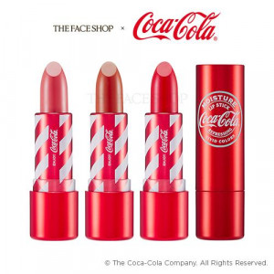 The Face Shop Coca Cola Moisture Lipstick 3.5g
