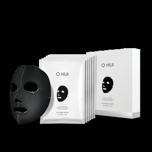 OHUI Extreme White 3D Black Mask (27g x 6P)