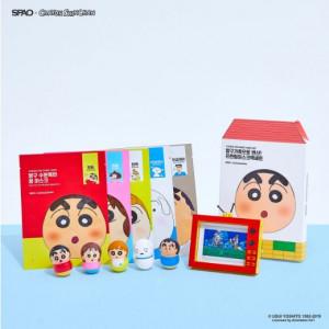 SPAO Crayon ShinChan Mask Pack Set 5pcs