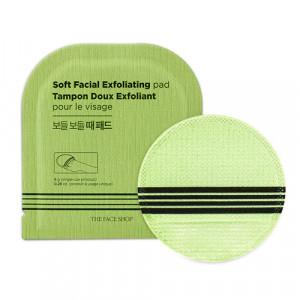 The Face Shop Soft Facial Exfoliating Pad 1ea