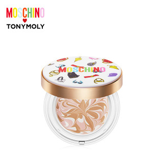 TONYMOLY [MOSCHINO] Chic Skin Essence Pact SPF50+PA+++ 18g