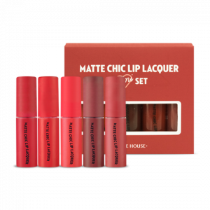 Etude House Matte Chic Lip Lacquer Mini 5 items 2.5g*5ea