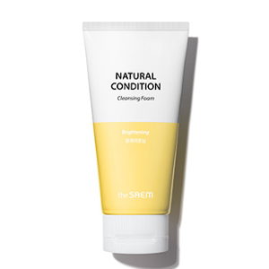 The Saem Natural Condition Cleansing Foam [Brightening] 150ml
