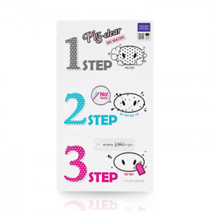 HolikaHolika Pig Clear Black Head 3-STEP Kit No Water 7g