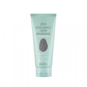 The Face Shop Jeju Volcanic Lava Deep Pore Cleansing Foam Scrub 140ml