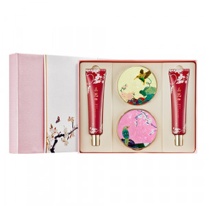 Missha [Sweet Flower Edition] Chogongjin Makeup Limited Edition Special Set 14g*10.5g*40ml* 40ml