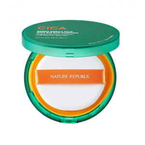 NATURE REPUBLIC Green Derma Mild Cica Big Sun Cushion SPF50+ PA++++ 25g