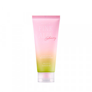 MISSHA Premium Pink Aloe pH Balancing Foaming Cleanser 140ml