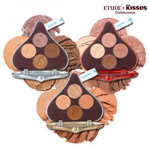 Etude House x Hush Play Color Eyes Kisses 1.2gx4