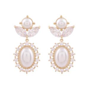 Noonoo fingers Pineapple Pearl Earring