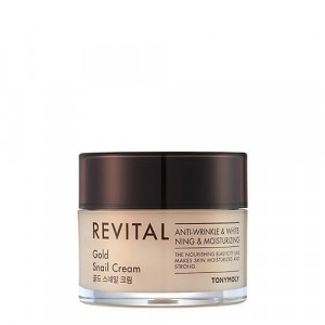 TONYMOLY Revital Gold Snail Cream 140ml