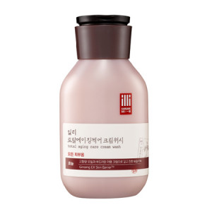 illi Total Aging Care Cream Wash 400ml