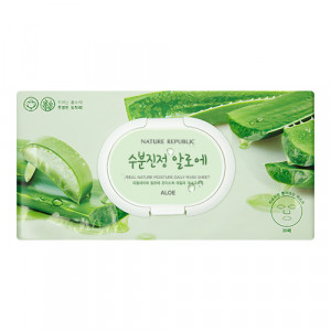 Nature Republic Real Nature Moisture Daily Mask Sheet 350g