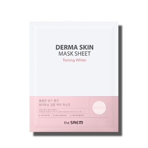 The Saem Derma Skin Mask Sheet #Toning White 25ml