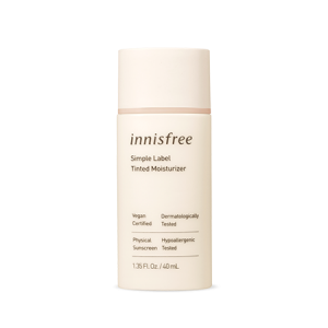 Innisfree Simple Label Tinted Moisturizer SPF50+ PA+++ 40ml