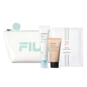 Innisfree [Items for Month/FILA] Pink Bright Kit