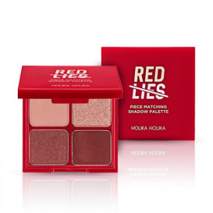 HolikaHolika Holiday Piece Matching Shadow Palette 6g [Red Lines]