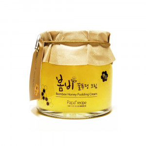 Paparecipe Bombee Honey Pudding Cream [Big] 135ml