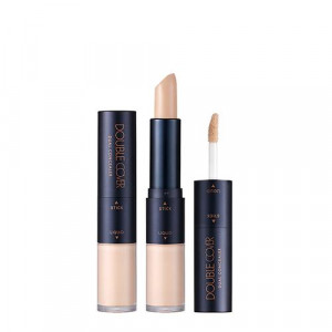 TONYMOLY Double Cover Dual Concealer Stick 3.5g/ Liquid 4.3g