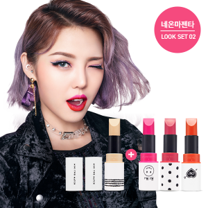 Etude House Mini 2 Match Neon Magenta #SET02