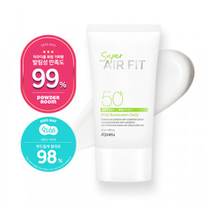 A'PIEU Super Air Fit Mild Sunscreen [Daily] SPF50+ PA++++ 50ml