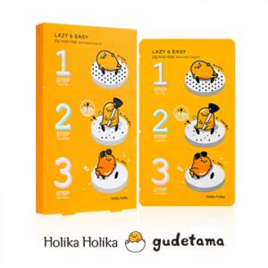 HolikaHolika Lazy & Easy Pig Nose Clear Black Head 3 Step Kit (Gudetama Edition) 1Box(10EA)