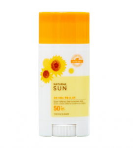 THE FACE SHOP Natural Sun Eco Super Defense Sunscreen Stick SPF50+ PA+++ 13.5g