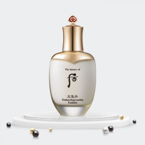 The history of Whoo Radiant Rejuvenating Emulsion 110ml