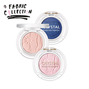 TONYMOLY Crystal Single Eye Shadow S/S [Fabric Collection] 1.5g
