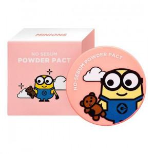 MINIONS No Sebum Powder Pact 8g