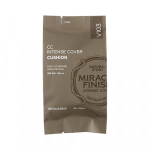 The Face Shop CC Intense Cover Cushion SPF50+ PA+++ 15g (refill)