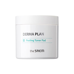 The Saem DERMA PLAN Peeling Toner Pad 70pcs/130ml
