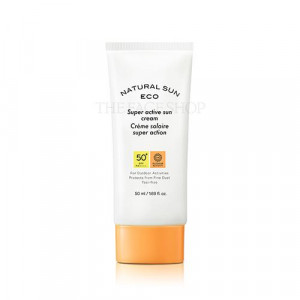 The Face Shop Natural Sun Eco Super Active Sun Cream SPF50+ PA++++ 50ml