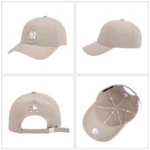 [R] New York Yankees Rookie Ball Cap 32CP77931-50B Beige