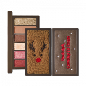 ETUDE HOUSE [Holiday Collection] Rudolph, Coming To Town Play Color Eyes Mini 1g*6