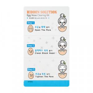A'PIEU Hidden Solution Egg Nose Clearing Kit 3sheets