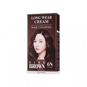 Missha Long Wear Cream Hair Coloring 60g+60g+8ml