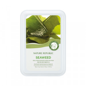 Nature Republic Real Fresh Seaweed modeling Mask 55g
