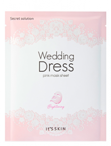 It's Skin Secrete Solution Wedding Dress Mask Sheet 27g*1ea/27g*10ea